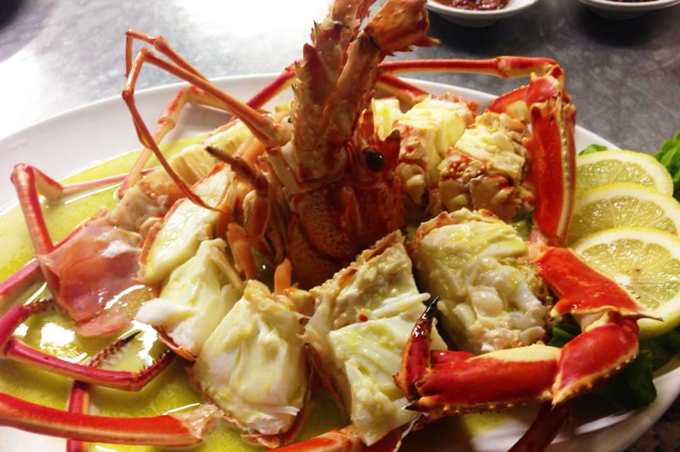 aragosta alla catalana ristorante da paolo in viale elmas 63 tel 070272132